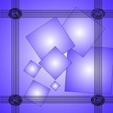 Elegant  abstract blue background Royalty Free Stock Image