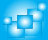 Elegant  abstract blue background Stock Photos