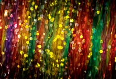 Elegant abstract bokeh background (funny curtain) Royalty Free Stock Images