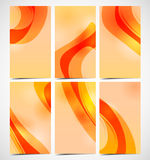 Elegant abstract designer cards Stock Photos