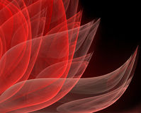 Elegant abstract fractal Royalty Free Stock Images