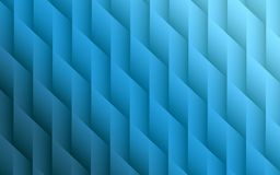 Gradient blue colors geometric lines angles abstract background design. Elegant abstract fractal background design featuring smooth geometric lines and angles in Stock Image