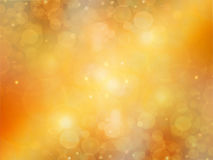 Elegant abstract gold  background. Gold spring or summer background. Elegant abstract background with bokeh defocused lights Stock Image