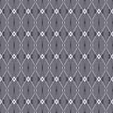 Elegant abstract seamless pattern of rhombuses Stock Photography