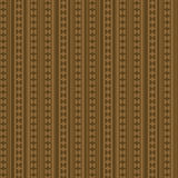 Geometric Sepia Pattern Stock Image