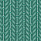 Ornamental Teal Pattern Stock Images