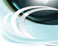 Elegant abstract wave template background Stock Image
