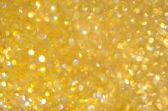 Elegant abstrakt bakgrund för guld- bakgrund Royaltyfri Fotografi