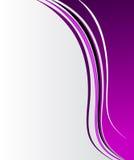 Elegant abstrakt purpurfärgad bakgrund Royaltyfria Bilder