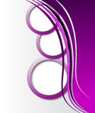 Elegant abstrakt purpurfärgad bakgrund Arkivbild