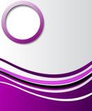 Elegant abstrakt purpurfärgad bakgrund Arkivfoto