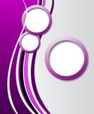 Elegant abstrakt purpurfärgad bakgrund Royaltyfri Bild