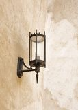 Elegant ancient lamp in Sheikh Isa Bin Ali old house, bahrain Royalty Free Stock Photos