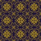 Elegant antique background image of curve spiral kaleidoscope pattern. Royalty Free Stock Images