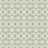 Elegant antique background image of flower bud vine kaleidoscope pattern. Stock Image