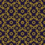 Elegant antique background image of flower leaf spiral pattern. Stock Photo