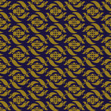 Elegant antique background image of flower spiral geometry pattern. Royalty Free Stock Photo