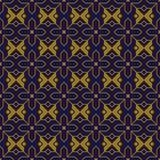 Elegant antique background image of Islam cross star geometry pattern. Stock Photos