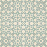 Elegant antique background image of Islam star cross geometry pattern. Royalty Free Stock Photography
