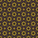 Elegant antique background image of Islam star geometry pattern. Royalty Free Stock Image