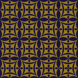 Elegant antique background image of oval cross geometry pattern. Stock Photography