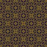 Elegant antique background image of spiral round curve kaleidoscope pattern. Royalty Free Stock Photos