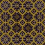 Elegant antique background image of square round geometry pattern. Royalty Free Stock Photo