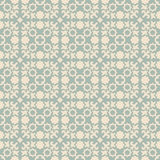 Elegant antique background image of star geometry kaleidoscope pattern. Royalty Free Stock Photo