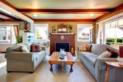 Elegant antique style living room Stock Photo