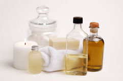 Elegant Apothecary Stock Photography