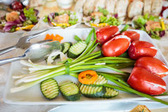 Free Elegant Appetizers Stock Photography - 63666862
