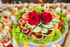 Elegant Appetizers Royalty Free Stock Image