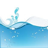 Elegant aqua business background Stock Photos