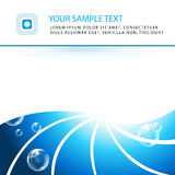 Elegant aqua business background Stock Photo