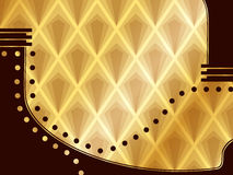 Elegant Art Deco Background Stock Image