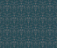 Elegant Art Nouveau seamless background Royalty Free Stock Image