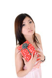 Elegant Asian beauty Stock Image