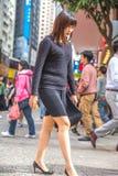 Elegant Asian woman Royalty Free Stock Photo