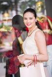 Elegant Asian woman Stock Image