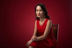 Elegant Asian woman Stock Images