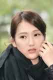 Elegant Asian woman of sadness Royalty Free Stock Photo
