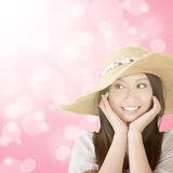 Elegant asian woman Stock Photography