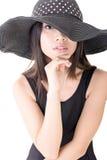 Elegant asian young woman Stock Photos