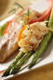 Elegant asparagus Stock Image
