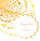 Elegant autumn background with place for your text Royalty Free Stock Image