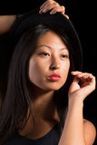 Elegant Aziatisch meisje Stock Foto's