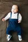 Elegant baby boy Stock Images