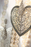 Elegant background. In the pastel color scale, consisting of female ornaments Stock Photography