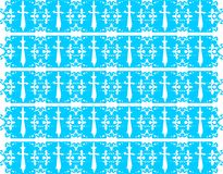 Elegant background with daggers in blue tones. An decorated background with stylized daggers Royalty Free Stock Image
