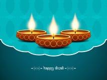 Elegant background design for diwali festival. With beautiful lamps. vector illustration Vector Illustration